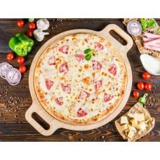 Пицца «Сливочная с ветчиной» 33 см.