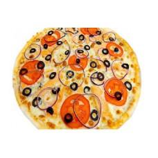 Пицца с лососем 33 см